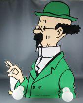 Tintin - Porte Manteau Mural Bois Trousselier - Le Trésor de Rackham le Rouge Tournesol