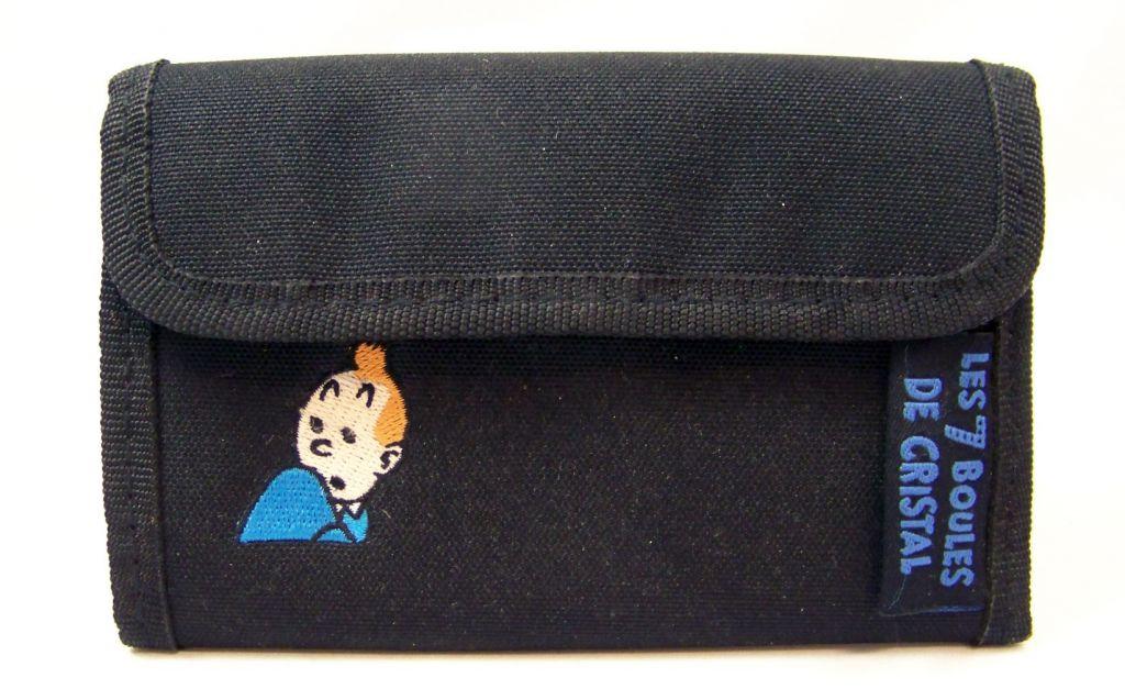 Tintin - Portefeuille Tissus Scratch - Les 7 Boules de Cristal