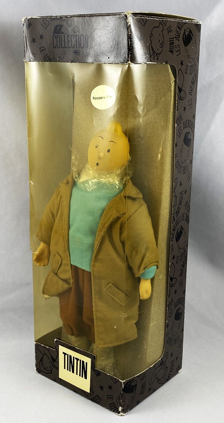 Tintin - Poupée Porcelaine - Tintin Reporter (neuf en boite)