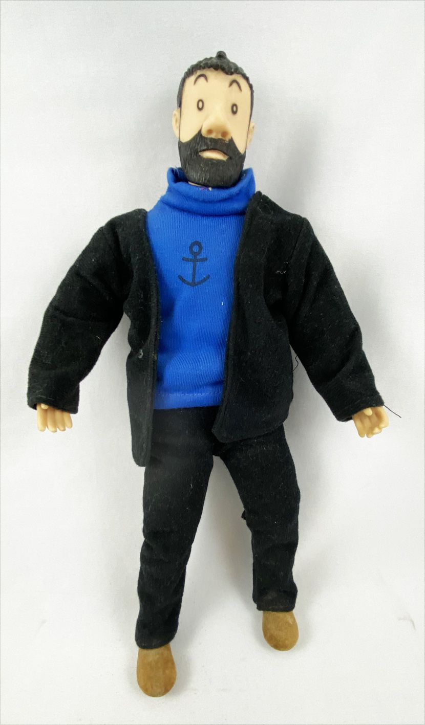 Tintin - Poupée Tyco - Capitaine Haddock (occasion)