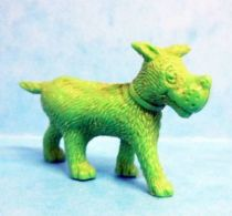 Tintin - Premium monocolor figure Esso Belgium - Gustav the dog (green)