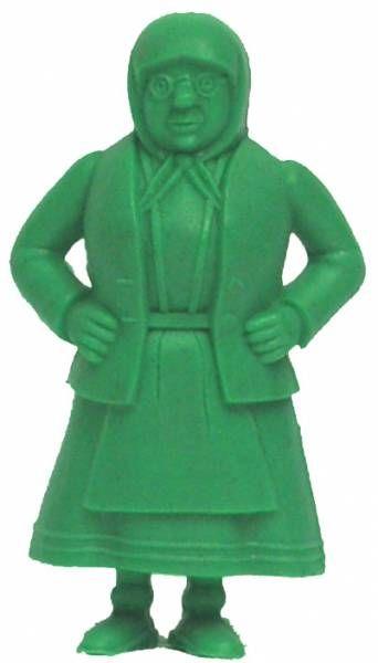 Tintin - Premium monocolor figure Esso Belgium - Miss Vleck (green)