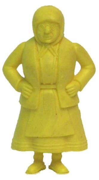 Tintin - Premium monocolor figure Esso Belgium - Miss Vleck (yellow)
