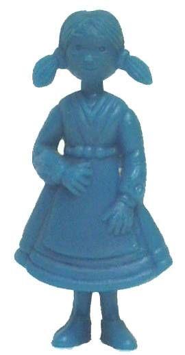Tintin - Premium monocolor figure Esso Belgium - Nouchka (blue)