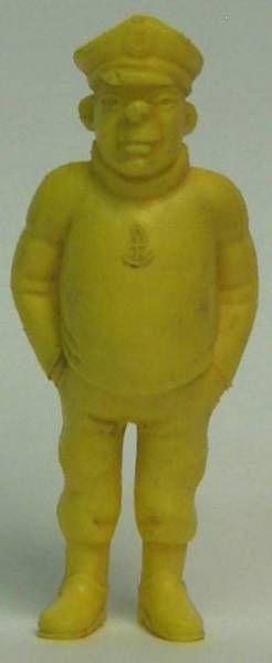 Tintin - Premium monocolor figure Esso Belgium - Rastapopoulos\' Lieutenant (yellow)