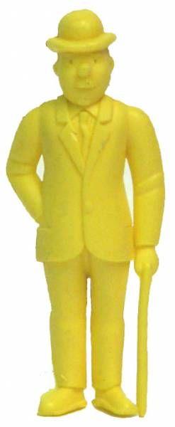Tintin - Premium monocolor figure Esso Belgium - Thomson stick in left hand (yellow)
