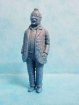 Tintin - Premium monocolor figure Stenval - Doctor Finney (blue)