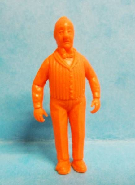 Tintin - Premium monocolor figure Stenval - Nestor (orange)