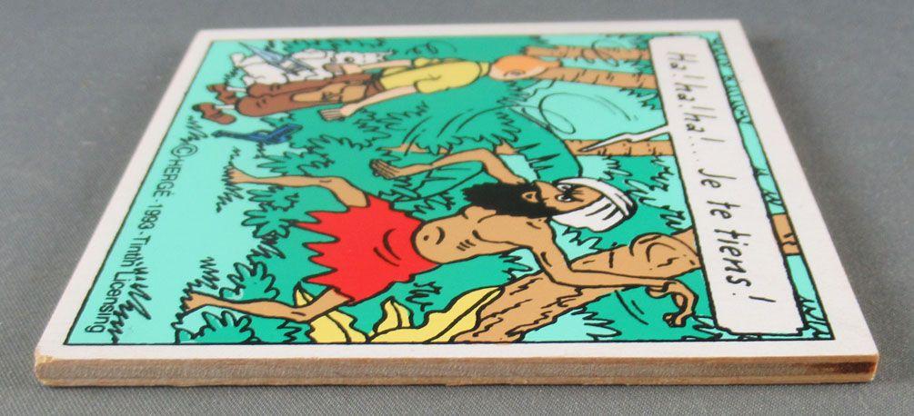 Tintin - Puzzle Bois Trousselier Modèle Seul - Les Cigares du Pharaon