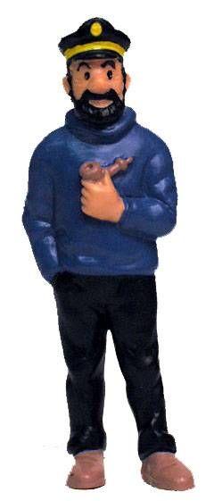 Tintin - Pvc figure Bully (1990) - Haddock