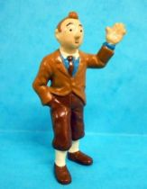 Tintin - Pvc figure Bully (1990) - Tintin (dark pants)