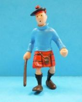 Tintin - Pvc figure Plastoy - Tintin The black island