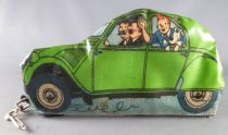 Tintin - Sari Pencil soft case - The Thomson\'s Green Citroën 2cv