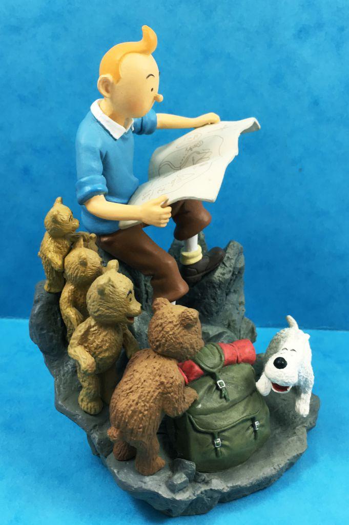 Tintin - Scénette Chaoer Comics - Tintin en montagne