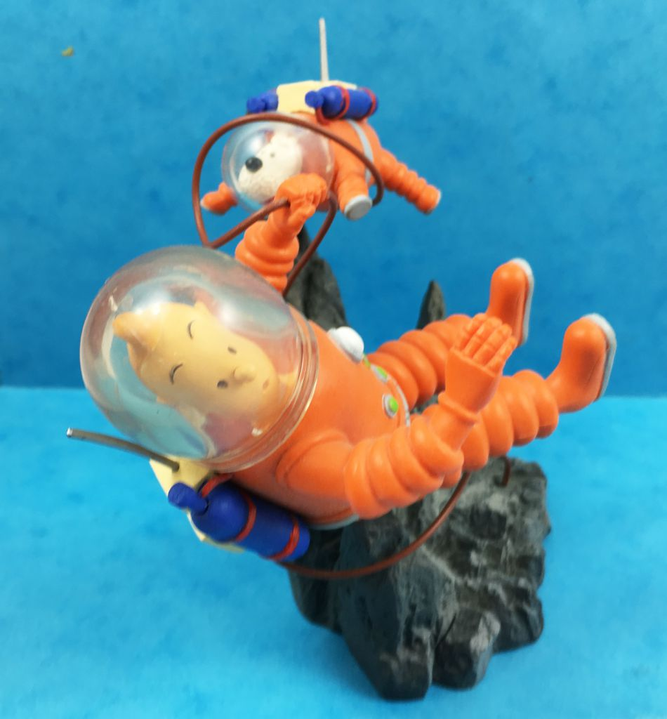 Tintin - Scénette Chaoer Comics - Tintin et Milou astronautes