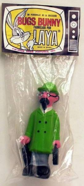 Tintin - Squeeze Figure Laya - Calculus (mint in baggie)