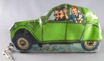 Tintin - Trousse à crayon Sari - La Citroën  2 cv Verte des Duponts