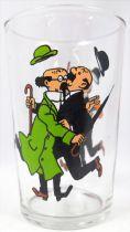 Tintin - Verre à moutarde Amora 1983 - Collisions