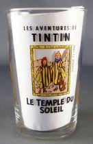 Tintin - Verre à moutarde Amora 1994 - Tintin Le Temple du Soleil