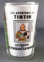Tintin - Verre à moutarde Amora 1994 - Tintin Le Trésor de Rackham le Rouge