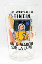 Tintin - Verre à moutarde Amora 1994 - Tintin On a marché sur la Lune