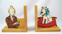 Tintin - Vilac Wooden Book Holder - Tintin and Snowy