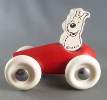 Tintin - Vilac Wooden Toy - Snowy in Car