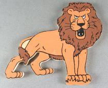 Tintin - Wooden Figures Trousselier - Lion Tintin in the Congo
