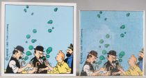 Tintin - Wooden Jigsaw Puzzle Trousselier - Land of black gold