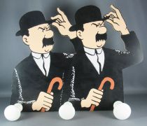Tintin - Wooden Wall Coat Hanger Trousselier - The Black Island The Thomsons