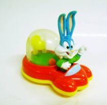Tiny Toons - McDonald\'s Premium - vehicle Buster Bunny & Basketball playing