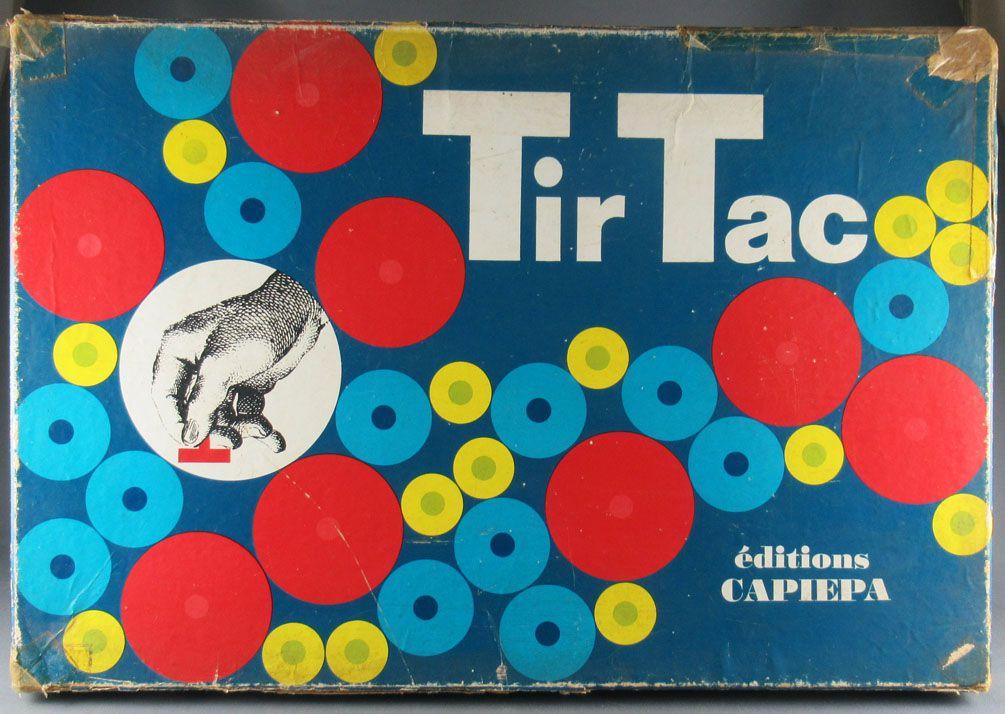 Tir Tac - Jeu d\'adresse - Capiepa 1966