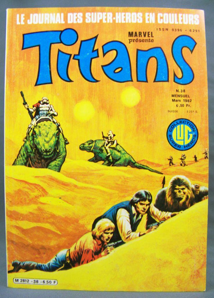 Titans n°38 - Collection Super Héros LUG - Mars 1982 - La Guerre des Etoiles 01