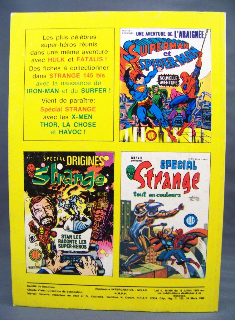 Titans n°38 - Collection Super Héros LUG - Mars 1982 - La Guerre des Etoiles 02