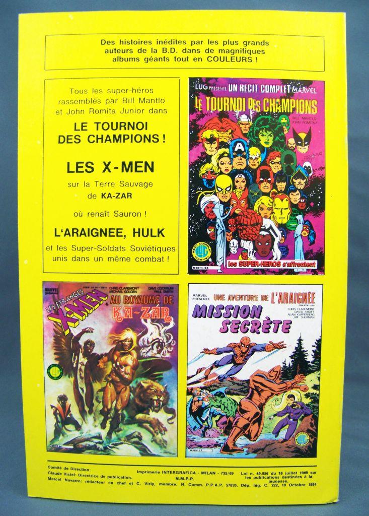 Titans n°69 - Collection Super Héros LUG - Octobre 1984 - La Guerre des Etoiles 02