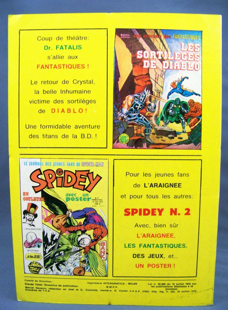 Titans n°21 - Collection Super Héros LUG - Juillet 1979 - La Guerre des Etoiles 02