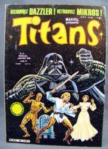 Titans n°36 - Collection Super Héros LUG - Janvier 1982 - La Guerre des Etoiles 01