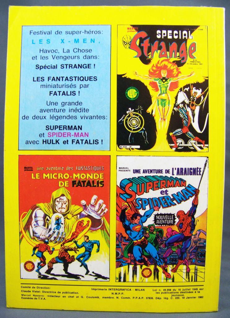 Titans n°36 - Collection Super Héros LUG - Janvier 1982 - La Guerre des Etoiles 02