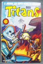 Titans n°58 - Collection Super Héros LUG - Novembre 1983 - La Guerre des Etoiles 01