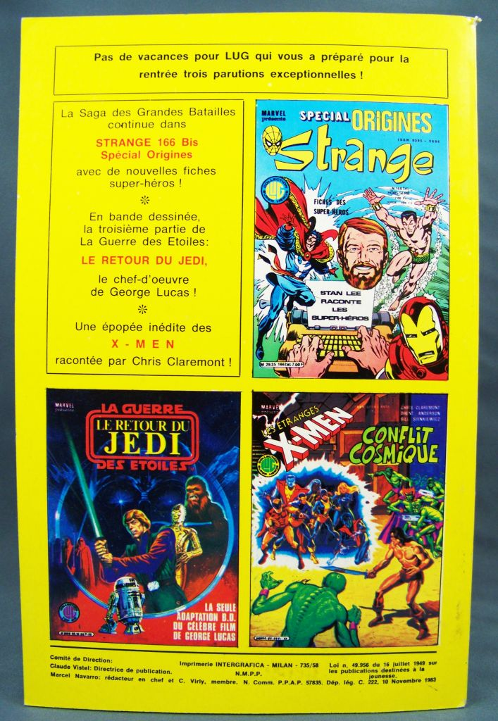 Titans n°58 - Collection Super Héros LUG - Novembre 1983 - La Guerre des Etoiles 02