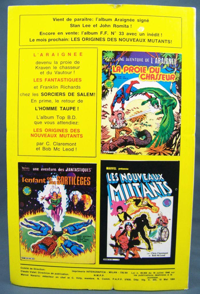 Titans n°64 - Collection Super Héros LUG - Mai 1984 - La Guerre des Etoiles 02