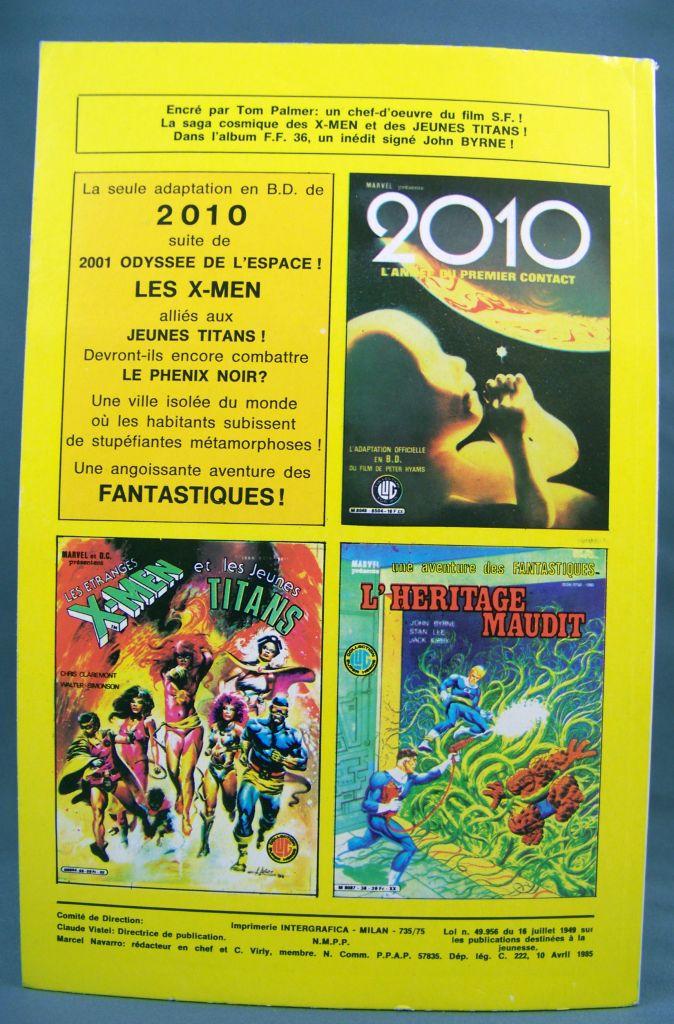 Titans n°75 - Collection Super Héros LUG - Avril 1985 - La Guerre des Etoiles 02