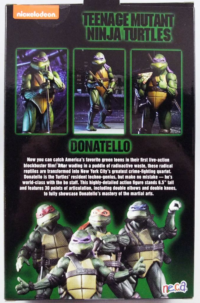 TMNT Tortues Ninja - NECA - 1990 Movie Donatello