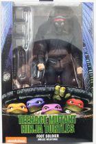 """TMNT Tortues Ninja - NECA - 1990 Movie Foot Soldier \""""Melee Weapons\"""""""