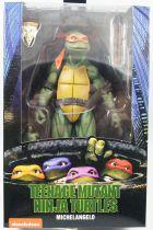 TMNT Tortues Ninja - NECA - 1990 Movie Michelangelo