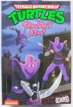 TMNT Tortues Ninja - NECA - Animated Series Foot Soldier