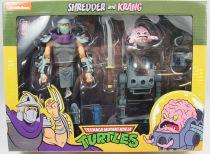TMNT Tortues Ninja - NECA - Animated Series Shredder & Krang