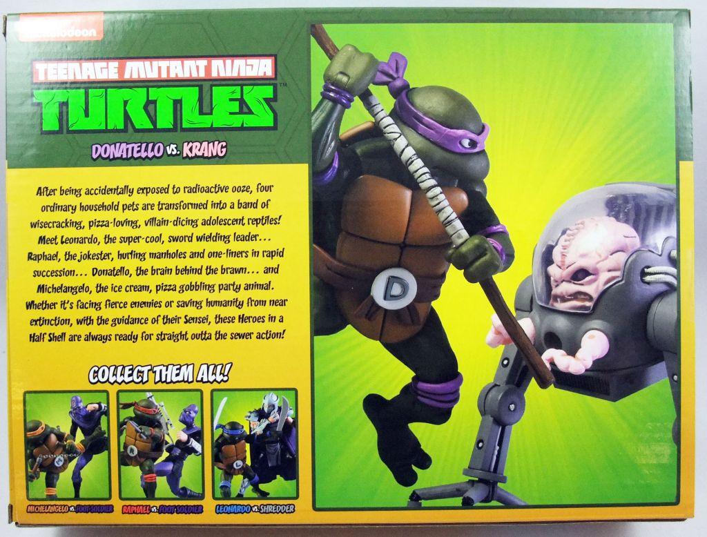 TMNT Tortues Ninja - NECA - Donatello vs. Krang