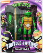 TMNT Tortues Ninja - NECA - Turtles In Time Donatello