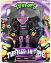 TMNT Tortues Ninja - NECA - Turtles In Time Foot Soldier